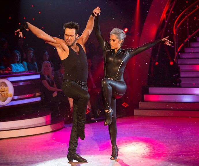 And while she and Scott redeemed themselves with their X-Men-themed paso doble on Sunday night, it wasn't enough to keep the star on the show.