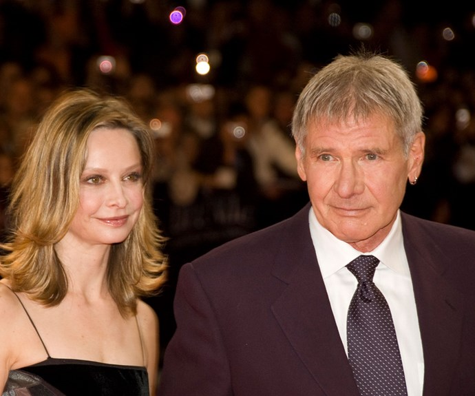 Carrie Fisher and Calista Flockhart beg Harrison Ford to stop flying