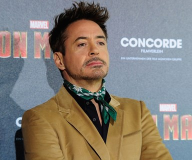 Robert Downey Jr walks out of interview