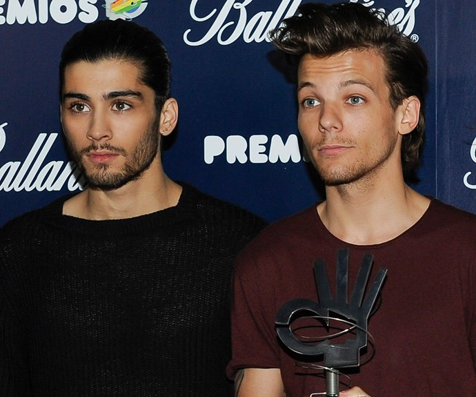 Louis thanks fans after Twitter war with Zayn