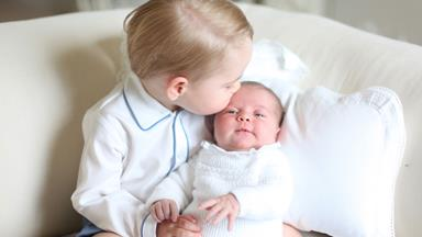 See the first pictures of Prince George and Princess Charlotte!